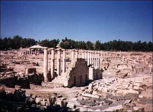 Beit Shean Israel  city photos : Beit Shean, Archaeology in Israel